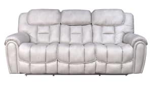 Cayman Snow Power Reclining Sofa