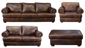 TITAN LEATHER LIVING ROOM COLLECTION