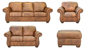 SILVERADO SOAR LEATHER LIVING ROOM COLLECTION