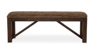Import Rustic Ranch Bed Bench