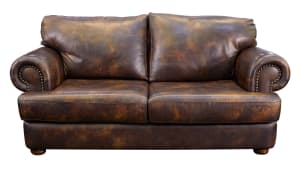 Titan Leather Loveseat