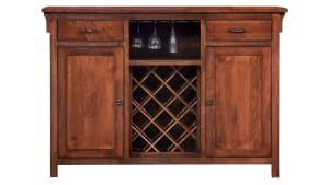 Maple Buffet Wine Rack