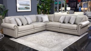 Grandview Leather Sectional
