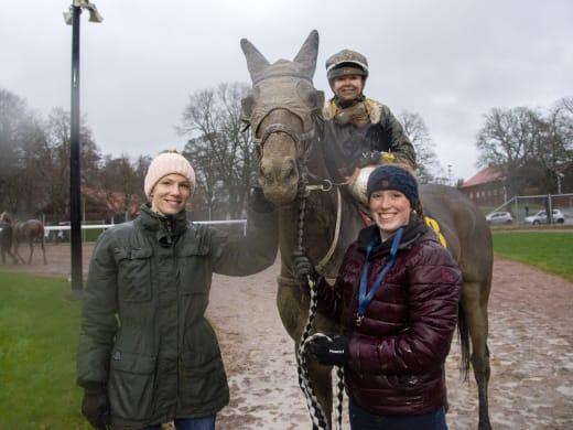 Annika Sjökvist om söndagens starthästar