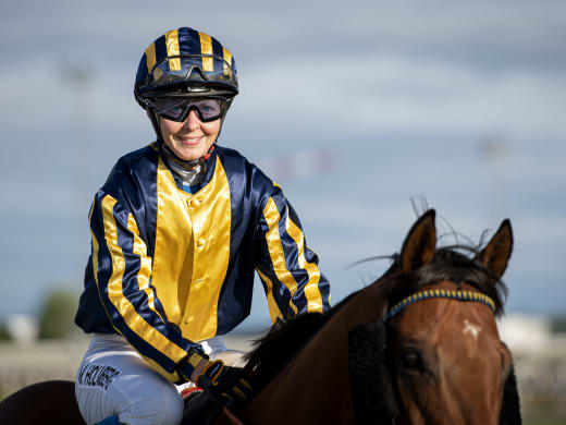 Malin Holmberg vann i Dubai
