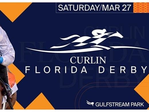 Florida Derby på Guldstream Park på lördag
