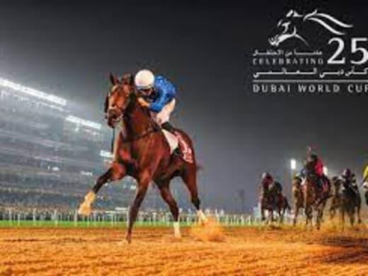Sex dagar kvar till Dubai World Cup anno 2021