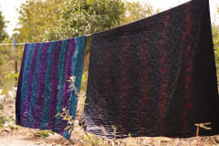 Gambia activities | Crafts corner | tie & dye