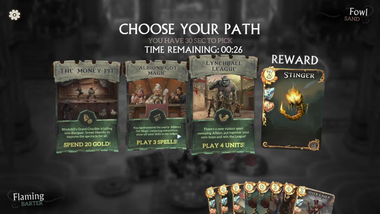 game strategi kartu Fable Fortune