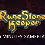 5 minutes gameplay runestone keeper di Game PC terbaik
