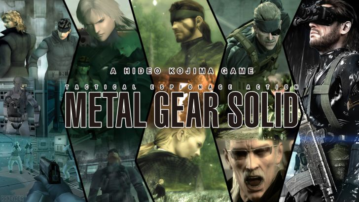 Hideo Kojima Metal Gear Solid