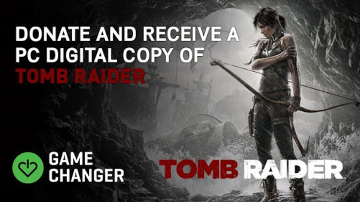promo sosial Tomb Raider Square Enix