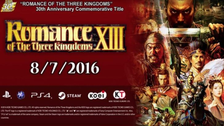 Romance of the Three Kingdoms 13