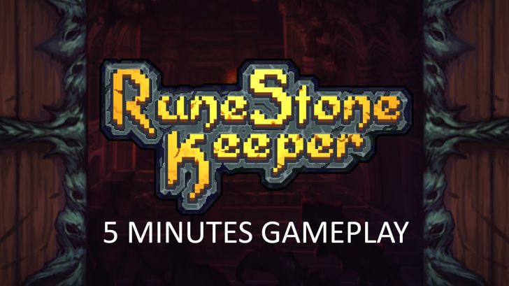 5 minutes gameplay runestone keeper di Game PC terbaik