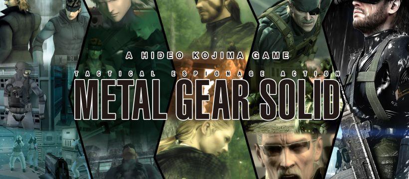 Hideo Kojima Metal Gear Solid