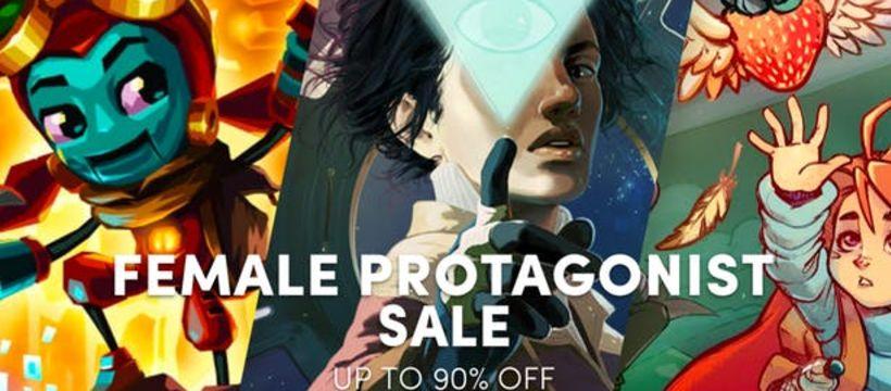 female protagonist sale di game PC terbaik