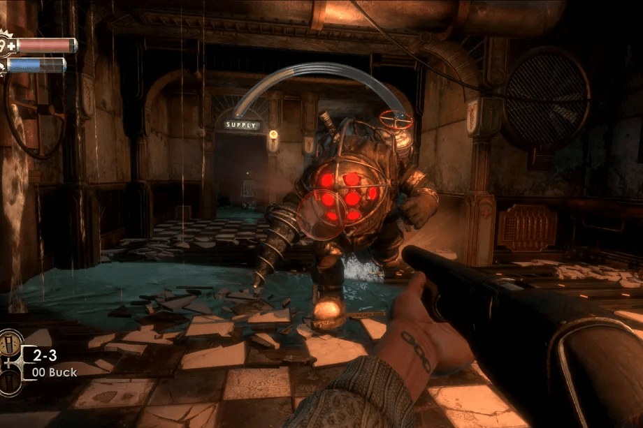 Bioshock was a great game to play together.