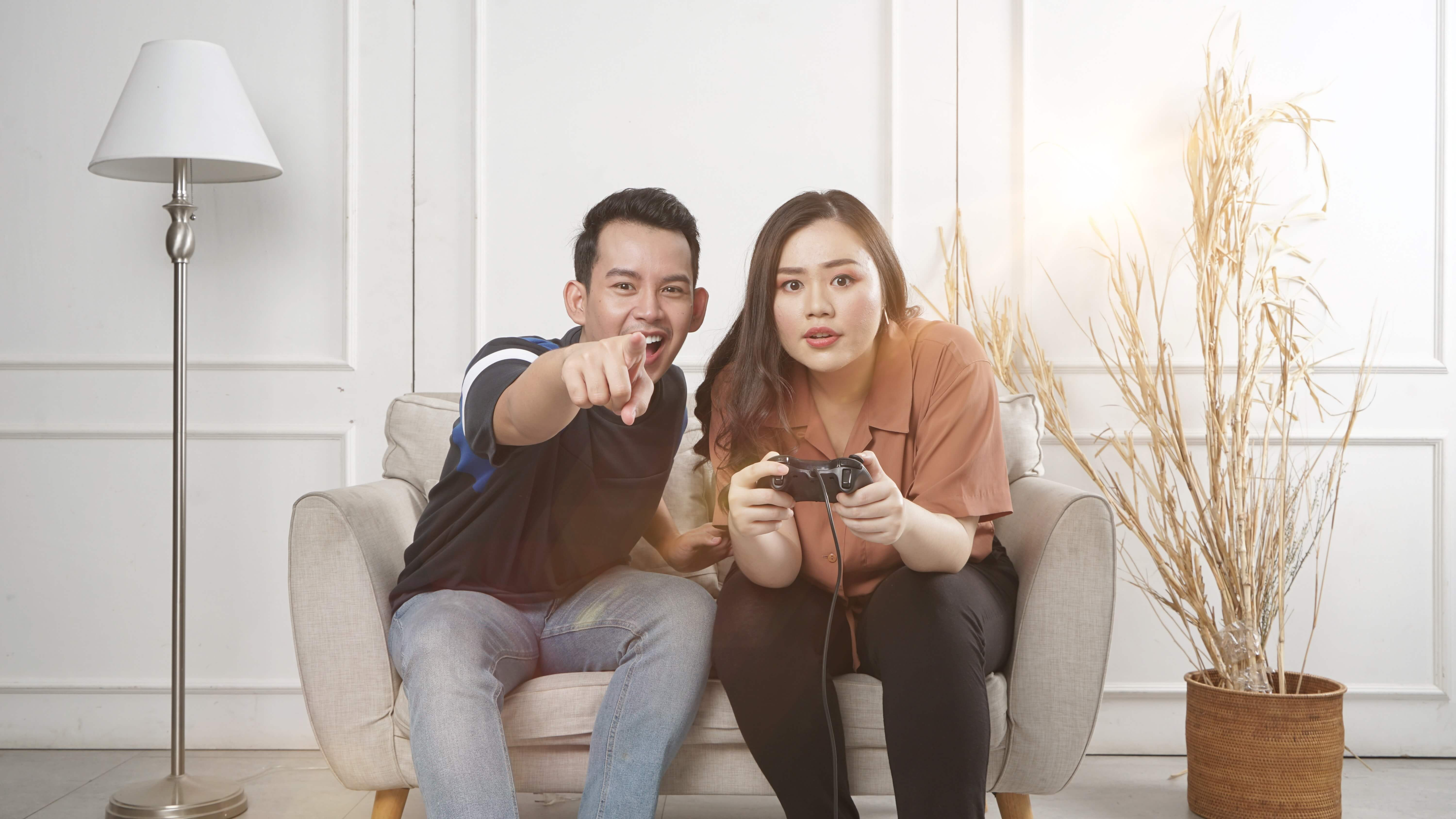 Gaming together as a couple