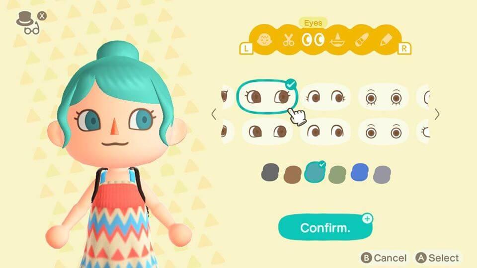 Animal Crossing New Horizons Character Design