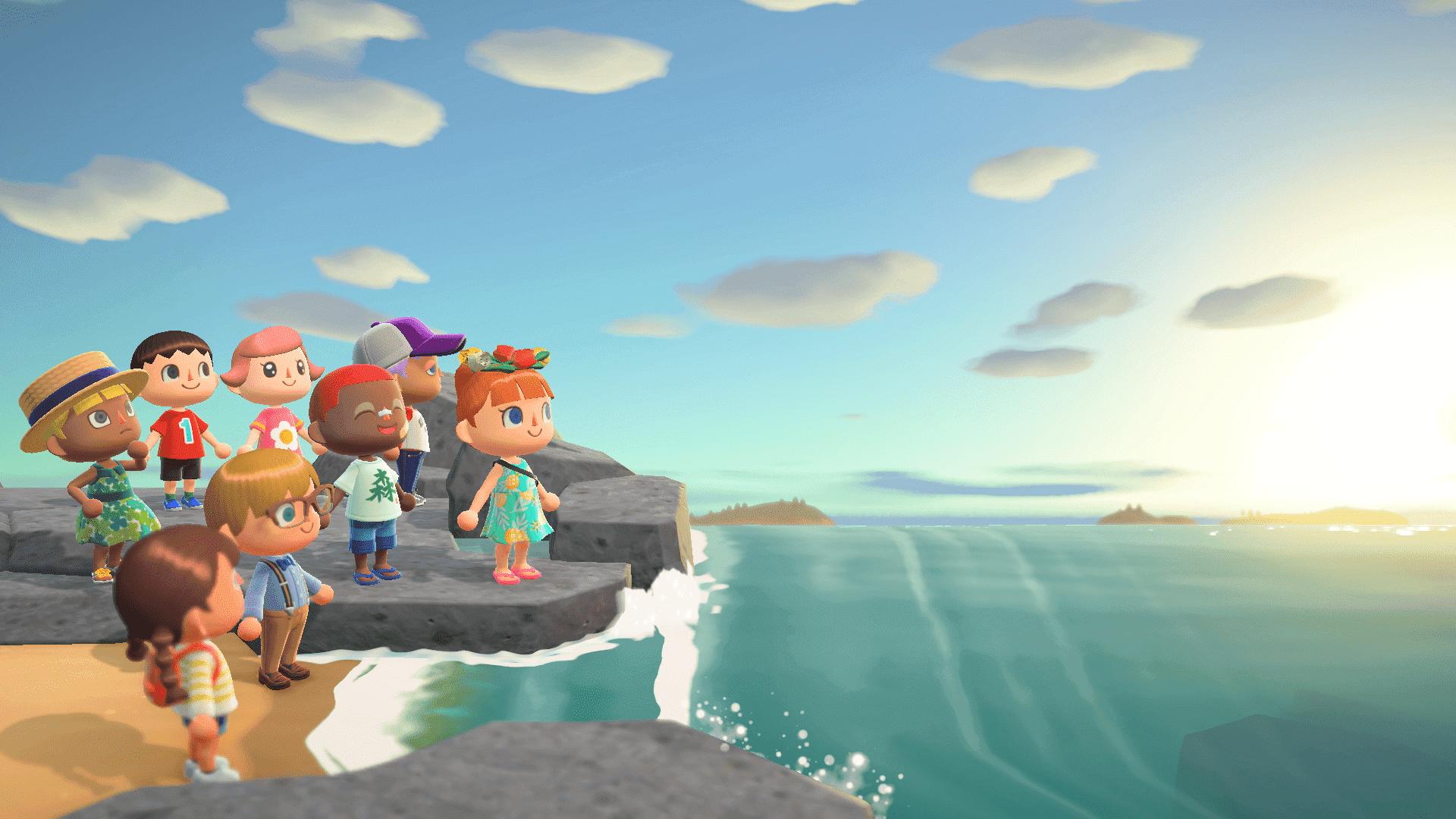 Animal Crossing New Horizons Game Date