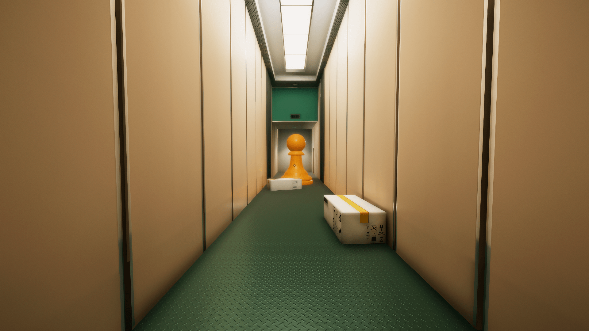 Superliminal review - stanley parable type game shows here the visual illusion