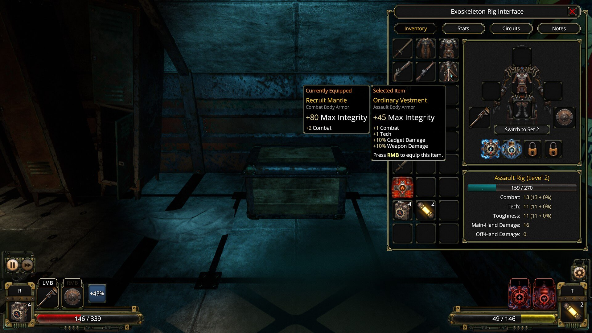 Vaporum and the inventory