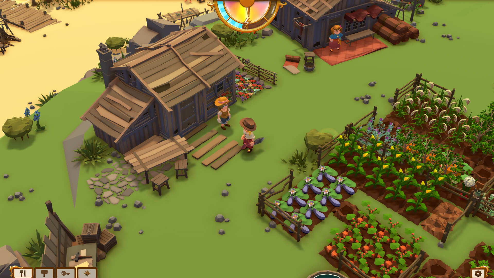 Surviving the wild? Check out my farm