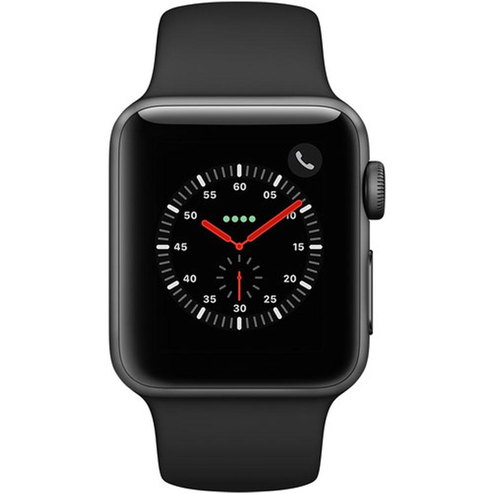 "Результат пошуку зображень за запитом apple watch series 3 space gray 38 mm"""
