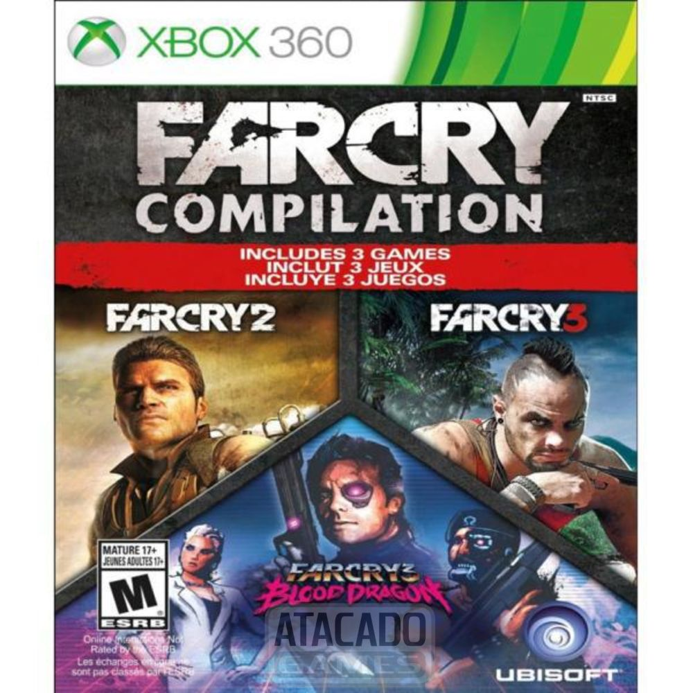 Jogo Far Cry Compilation Xbox 360
