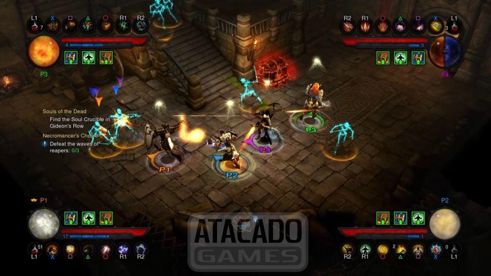 Jogo Diablo III Eternal Collection PS4