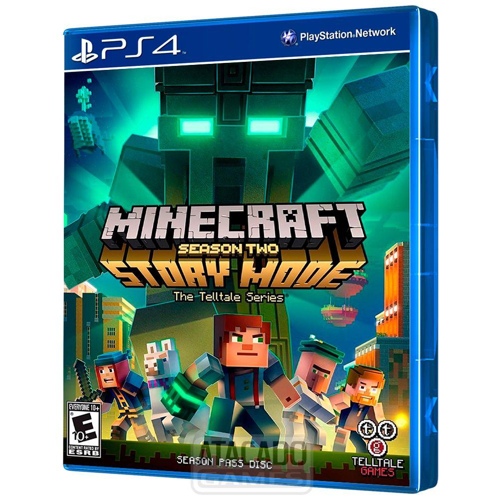 Jogo Minecraft Story Mode Season 10 Ps10