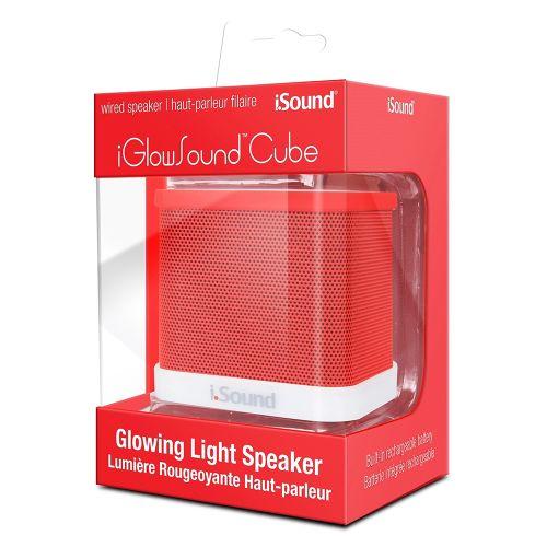 caixa-de-som-isound-iglowsound-cube-vermelho-atacado-games-paraguay-paraguai-py-319072-1