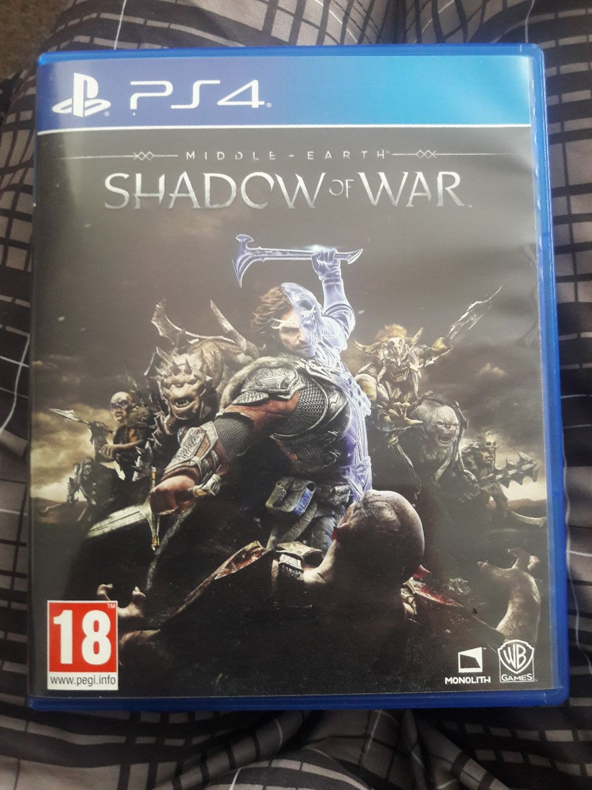 Middle Earth -Shadow of War (PS4)