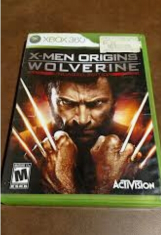 Xbox 360 x-men wovelrive origins n