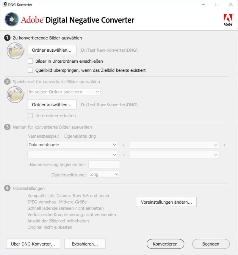 Adobe DNG Konverter