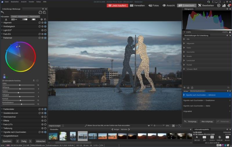 RAW-Entwicklung mit ACDSee Photo Studio