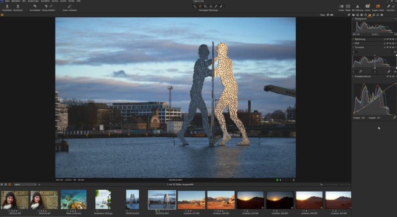 RAW-Entwicklung in Capture One