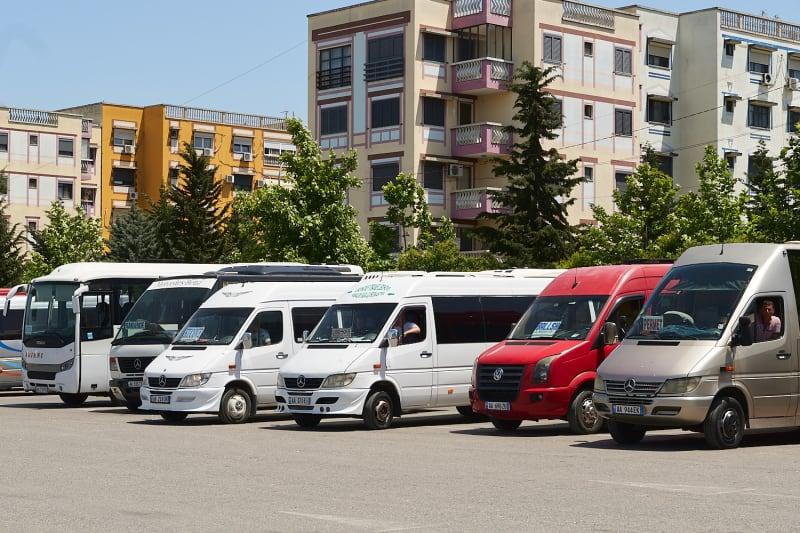 Busbahnhof in Tirana