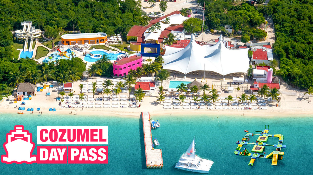 Cozumel Cruise Port – 9 All Inclusive Day Pass Options (wit...