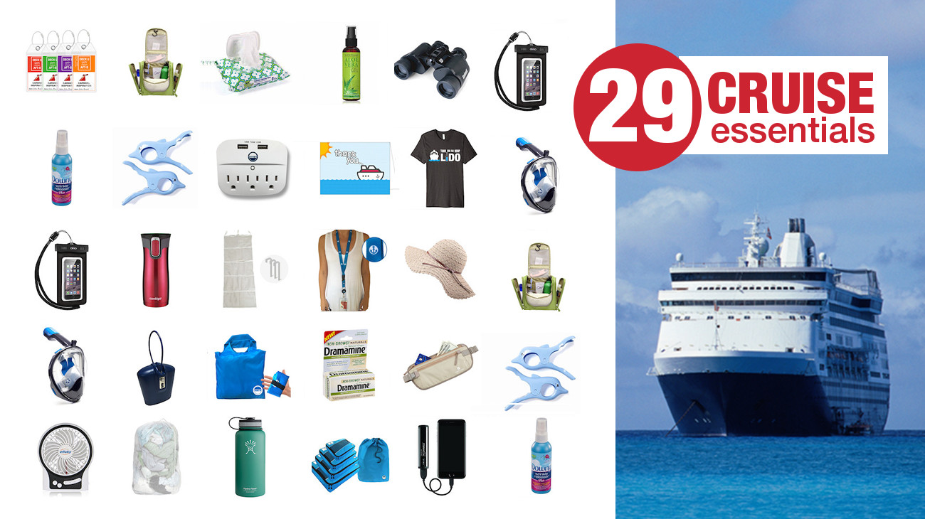 What to Pack for a Cruise – 29 Cruise Essentials [2018 Shopping Guide]