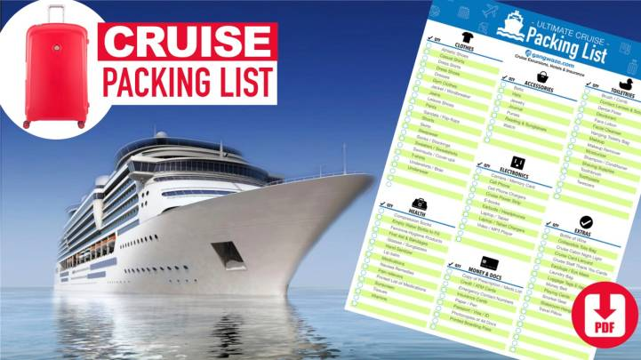 Cruise Packing List | Ultimate 2019 Checklist [With Printable PDF Download]