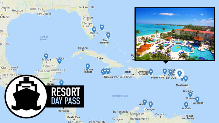 Resort for a Day – All Cruise Port Options [2019 Complete List]