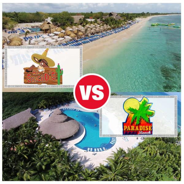 Paradise Beach vs Mr Sanchos