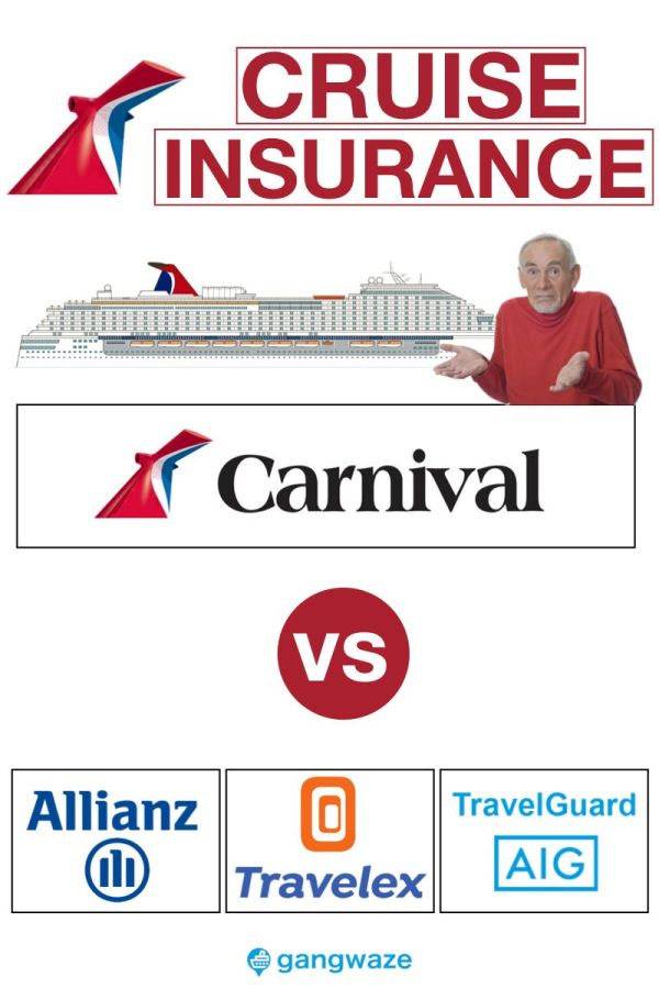 Cruise Insurance Carnival vs 3rd Party Providers