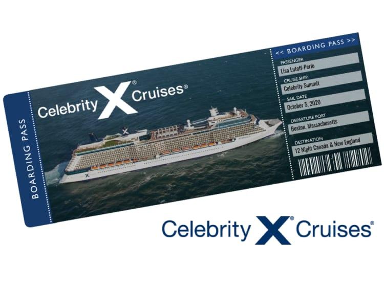 Celebrity Cruise Ticket Template