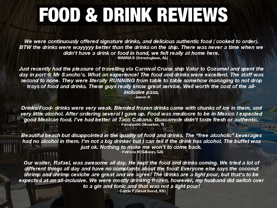 Mr Sanchos Food Reviews