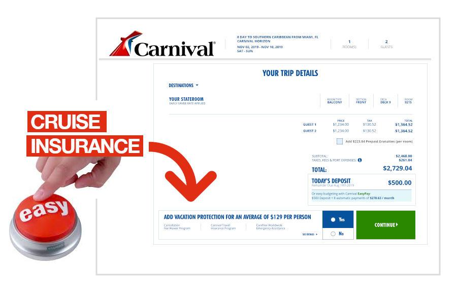 How to Buy Cruise Insurance from Carnival Cruise Line