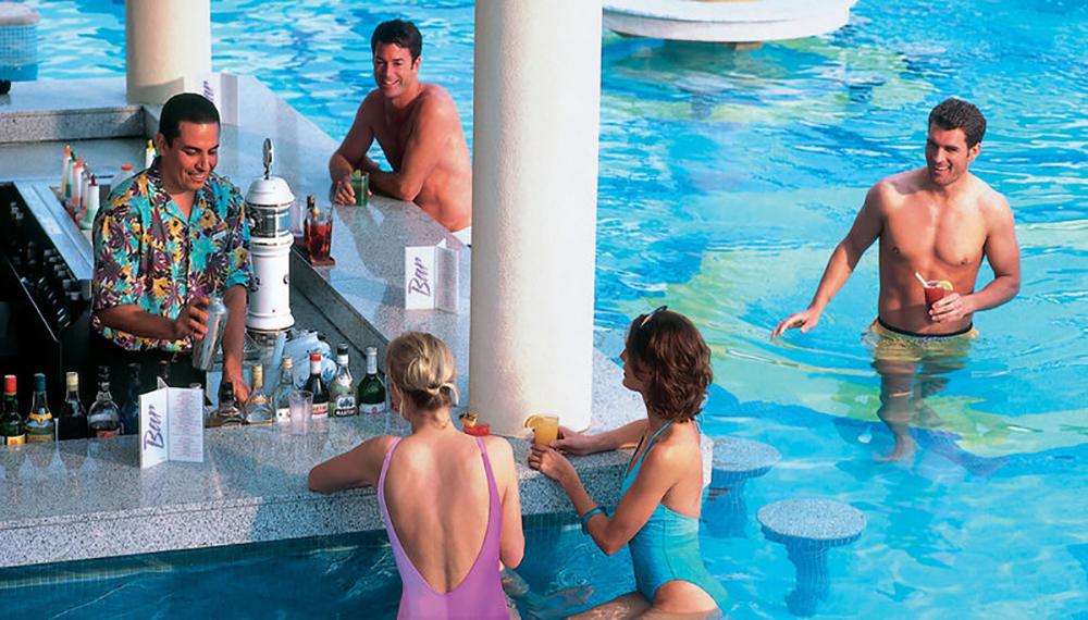 Riu Palace Cabo Swim Up Bar