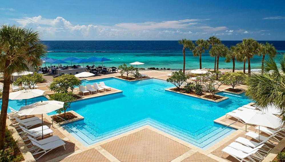 Marriott Pool Curacao