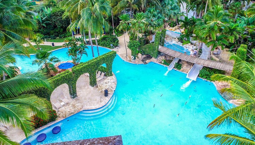 Jamaica Hilton Rose Hall Pool
